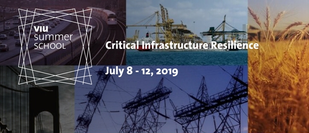 VIU Summer School Critical Infrastructure Resilience banner 2019 02 rid
