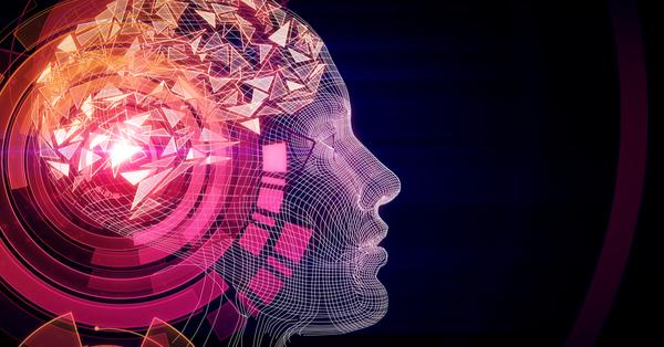 AI - colorful head