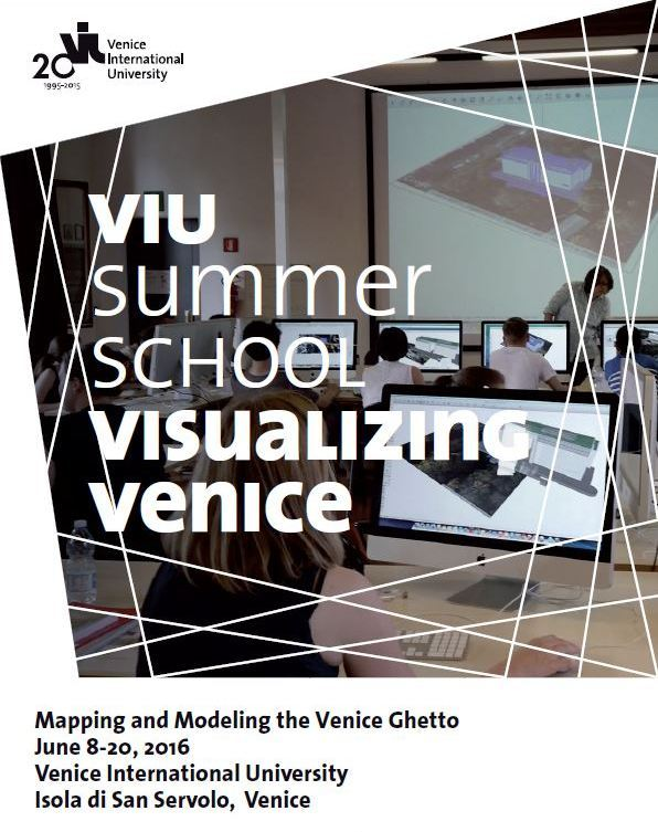 visualizing venice 2016 brochure cover
